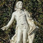 Mozart Memorial in the Burggarten
