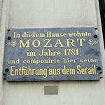 Mozart locations in Vienna