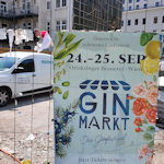 Gin market poster