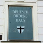 Sign outside Deutschordenshaus