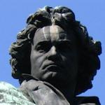 Beethoven's head