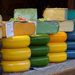 Cheeses at the Rathaus New Year market