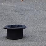 A busker's hat