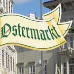Ostermarkt sign