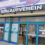 Entrance to the Eislaufverein