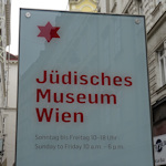 Sign for the Jewish Museum