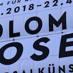 Koloman Moser exhibition banner