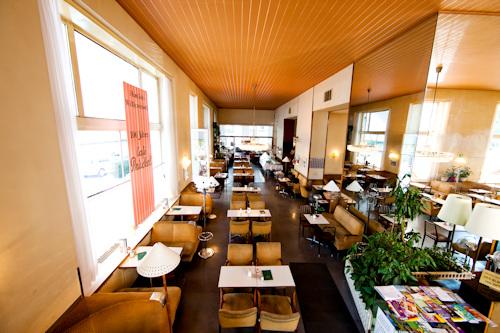 Inside Café Prückel