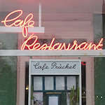 Café Prückel sign
