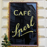 Cafe Sperl sign