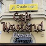 Cafe Westend sign