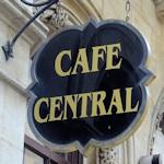 Café Central sign