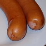 Two frankfurters