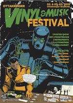 Vinyl & Music Festival poster