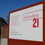 Belvedere 21 sign