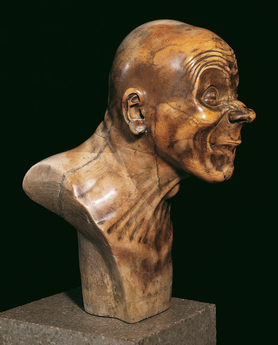 Character head by Franz Xaver Messerschmidt
