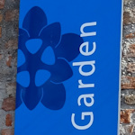 Botanical gardens sign