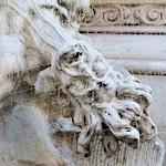 Figure on a plague column