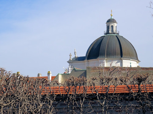 View of the Salesian church dome