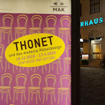 Poster for Thonet exhibition