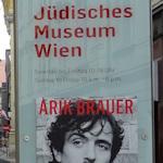 Arik Brauer and museum poster