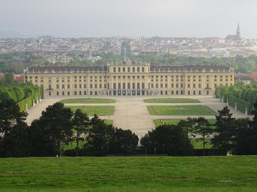 View of Schönbrunn Palace from the Gloriette