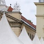 Booth tops at the Burgenland Kultinarium