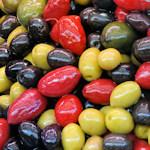 Olives at the Naschmarkt
