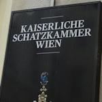 Schatzkammer sign
