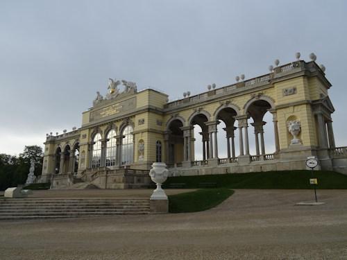 Schönbrunn's Gloriette arches