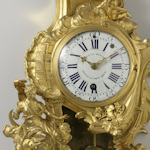 A rococo clock