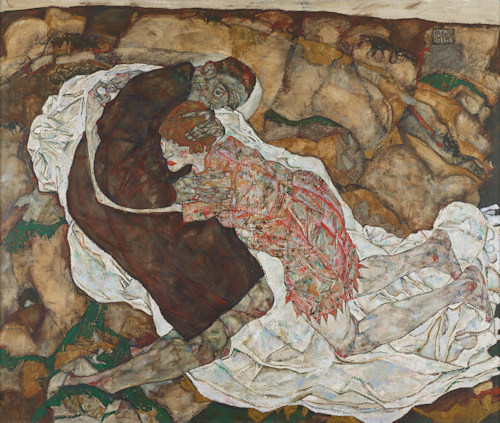 Schiele's Death and the Maiden