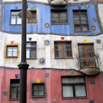 Front of the Hundertwasser House