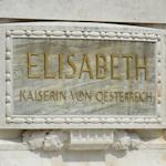 Kaiserin Elisabeth plaque
