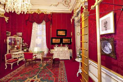 Empress Elisabeth's dressing room