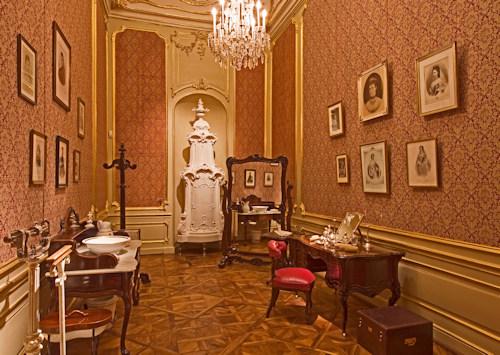 Sisi's dressing room
