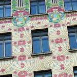 Facade of the Majolika House