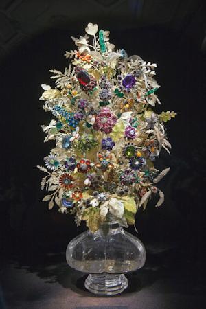 A gemstone bouquet