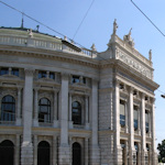Front of the Burgtheater