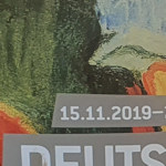 Small piece of the exhibition poster