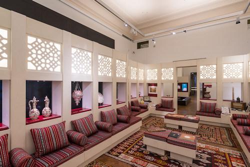 Majlis exhibition room