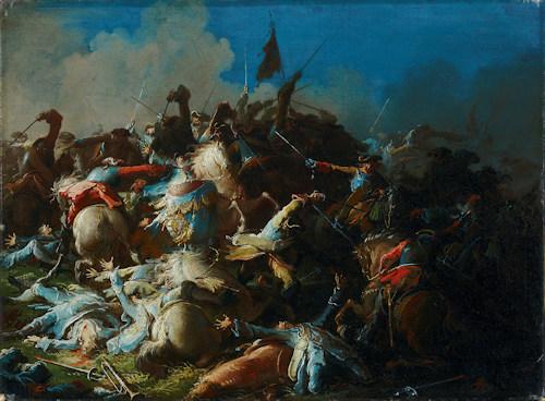 Mildorfer battle scene