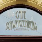 Cafe Schwarzenberg sign