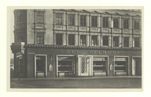 Front of Café Palmenhof