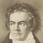 Face of Beethoven