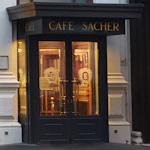 Cafe Sacher doorway
