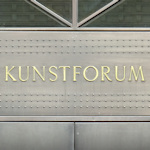 Kunstforum sign