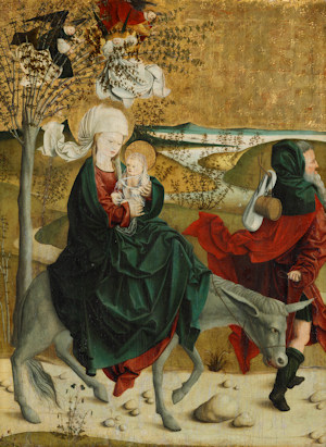 Flight from Egypt by the Master of Mondsee