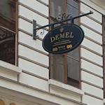 The Demel sign