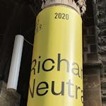 Richard Neutra exhibition sign